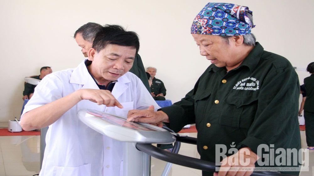 Trung tâm Điều dưỡng người có công tỉnh Bắc Giang: Mái nhà chung ấm áp nghĩa  tình